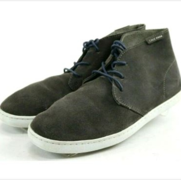 Cole Haan Other - Cole Haan Men's Chukka Boots Size 7.5 Suede Gray